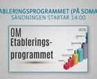 Webbinar - Om etableringsprogrammet (på somaliska)