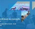 Nyckeln till ökade internationella intäkter, 2017-12-06
