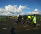 #peace QuakersAgainstFracking at PNR Friday November