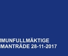 Kommunfullmäktigemöte 2017-11-28