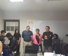 Taller en Competencias Digitales en la Universidad  Autónoma del Estado de Hidalgo impartido por COCYPE por Dr. Alfredo Patiño Lic. Carlos Rivera