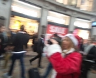 #SustainaClaus #XmasWednesday #DeZombification OxfordCircus #Olsx