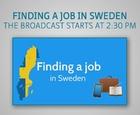 Webinar - Finding a job in Sweden
