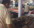 Desde la feria del Sombreo en el estan de l Restaurant y Marisqueria Kenia