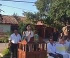 Acto civico conmemoracion al 107 aniversario de la Revolucion Mexicana en el municipio de Tlalchapa, Gro.