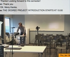 Degree Project course spring 2018 Introduction by Tobias