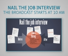 Webbinar - Nail the job interview