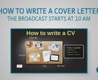 Webbinar - How to write a CV