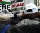 #balfour100 #freepalestine #GrosvenorSquare #Gaza #joepublic