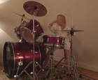 Melba på trummor