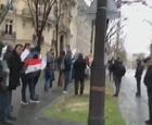 باريس  مظاهرة  امام السفاره ضد احكام الاعدام الثلاثاء ء2/1/2018