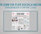Webbinar - Sök jobb via fler sociala medier