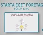 Webbinar - Starta eget företag (del 1)