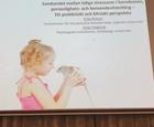 SAD2017 Sambandet mellan tidigare stressorer i barndomen, personlighets- och beroendeutveckling. Doc Erika Roman o doktorand Johan Hagborg
