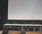 Panel:Mani Hussaini (AUF) statsråd Solveig Horne (Frp) Kristian Tonning Riise (H) Geir Jørgen Bekkevold (Krf) Lene Vågslid (Ap) Sandra Borch (Sp) Freddy Øvstegård (SV) Hanne Bjurstrøm (LDO) Ordstyrer:Sigrid Sollund (NRK) Kommentar Anine Kierulf,NHRI