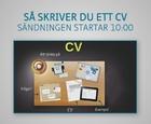 Webbinar - Så skriver du ett CV