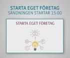 Webbinar - Starta eget företag